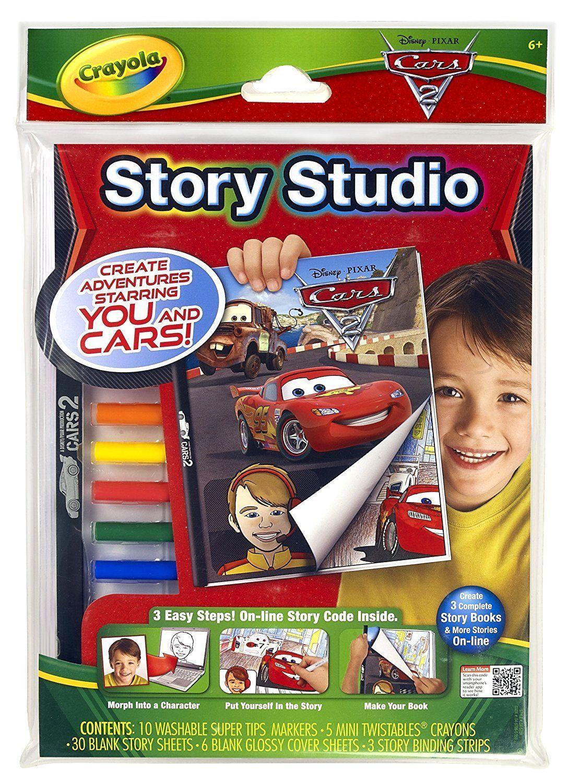 Crayola Story Studio Comic Maker Cars 2 - $9.99