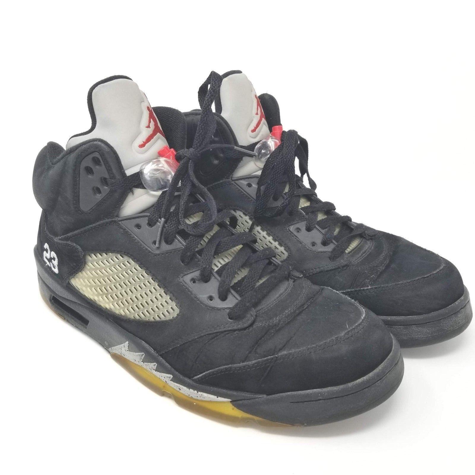 2b361129217 57. 57. Previous. 2011 Jordan Retro V 5 Black Varsity Red Metallic Silver  136027-010 Sz 12 · 2011 ...