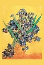 Vase avec Irises by Vincent van Gogh - Art Print - $19.99+