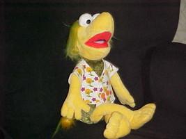 "15"" Fraggle Rock Wembley Plush Stuffed Doll Manhattan Toy 2009 Jim Henson - $59.39"