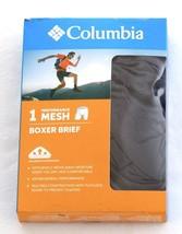 Columbia Gray Omni Wick Performance Mesh Boxer Brief Underwear Men's  NWT - $20.24