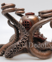 Octopus Steampunk  Candelabrum Candle Holder * Air Priority Worldwide  - $149.00