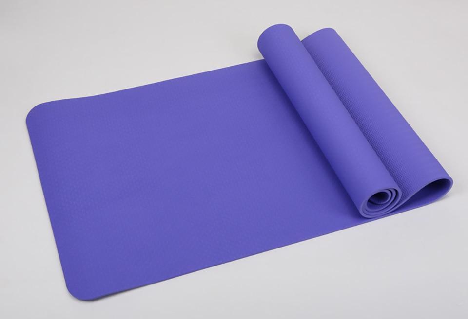 Non-slip Yoga Mat For Fitness Gym Exercise Sport Mats 8 COLOR 6MM