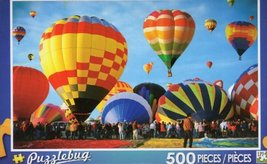 Albuquerque Balloon Fiesta - Puzzlebug - 500 Pc Jigsaw Puzzle - NEW - $19.98