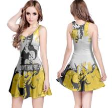Don't Think, Feel. Fighter Quote Reversible Women Dresses - $21.80+