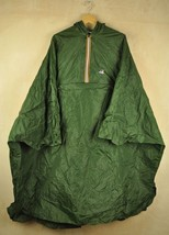 Vtg 90's K-WAY Shell Pac-A-Mac PONCHO Rain Jacket - Large/XL - $48.77