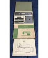 Vintage Kenmore Sewing Machine Model 1752 Instruction Booklet & Attachments - $22.27