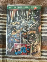 1993 WIZARD Superman Tribute Edition Sealed in original Polybag +card - $4.00