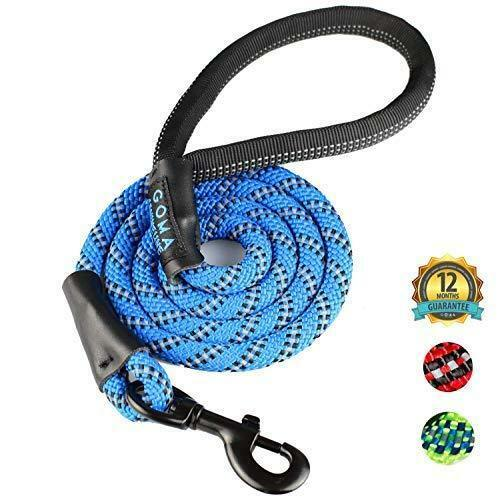 Heavy Duty and Reflective Lead Ergonomic Grip Made w/ Mountain Climbing Rope