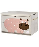 3 Sprouts Kids Toy Chest - Storage Trunk for Boys and Girls Room - $28.35