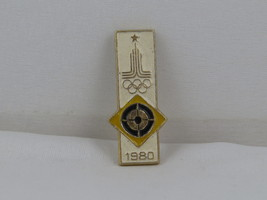 Summer Olympics Games Event Pin - 1980 Moscow Archery - Stamped Pin - $19.00