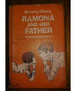 Ramona and Her Father BEVERLY CLEARY First Edition 1977 hardcover ex-lib... - $84.15