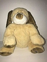 "Ganz Webkinz Jr Tan Puppy Dog 10"" Plush Soft Stuffed Animal Brown - $22.24"
