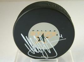 Official Nhl Hockey Puck Autographed Mattias Norstrom Dallas Stars - $18.46