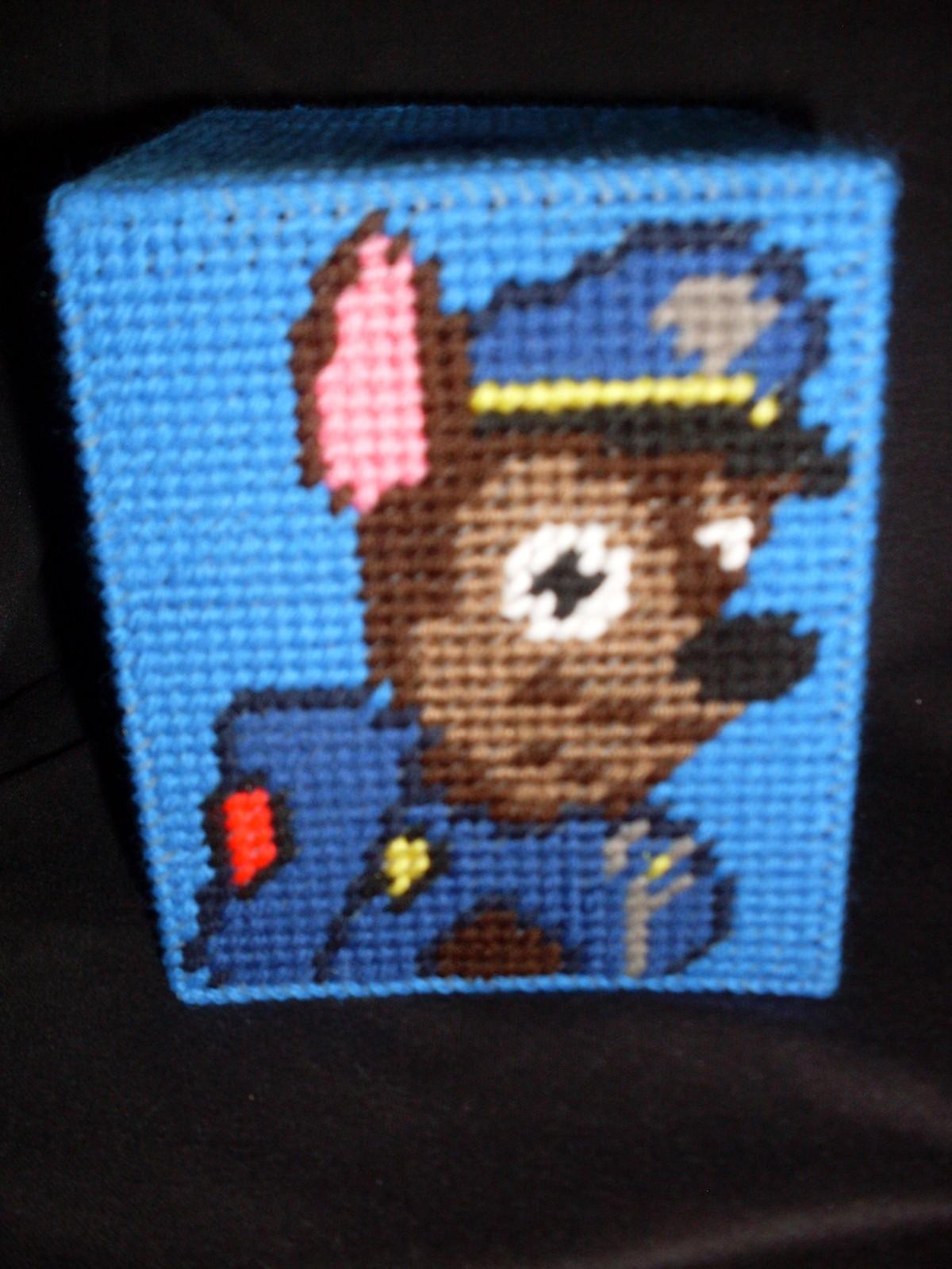 Plastic Canvas Paw Patrol Tissue Box Cover
