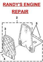 Blower Frame Homelite UP04405 UP04405A BP250 Backpacker - $22.99