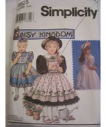 Daisy Kingdom Girl's Dress & Pinafore Pattern 5 - 6X - 9925  - $6.99