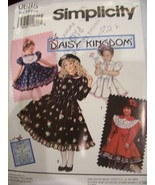 Daisy Kingdom Simplicity 0685 Girl's Dress Sz 3 - 6 - $6.99