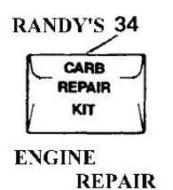 repair kit carb carburetor POULAN BLOWER TRIMMER - $18.59