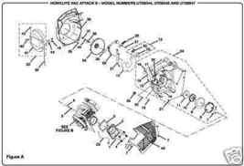 Throttle Trigger Homelite Blower 518247001 Yard Broom - $6.65