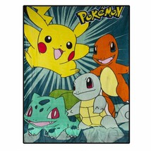 """Pokémon Pokemon""""We Choose"""" Throw Blanket, 40"""" X 50"""", Blue - $31.34+"""