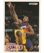 1993-94 Fleer #166 Richard Dumas  - $0.50