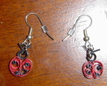 Primary image for Handcrafted Paper Quilled Ladybug Earrings