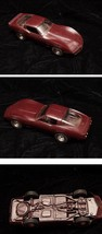 Plastic Car Dealer Promo Car AMT 1982 Corvette Dark Brown - $34.99