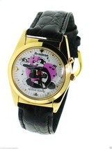 1994 Armitron Warner Brothers Musical Pepe Le Pew Watch with Penelope Pu... - $65.00