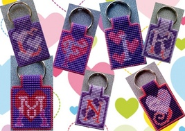 initial keychains - $5.00