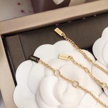 Auth Christian Dior SET DIO(R)EVOLUTION J'ADIOR TRIPLE CRYSTAL GOLD BRACELET image 7