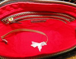 Dooney & Bourke Lani Croco Emb Leather Crossbody Brown T'Moro image 9