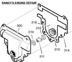 Washer Murray Craftsman 48275 48275MA Snow Blower Part - $6.65