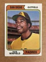 1974 Topps Dave Winfield #456 Rookie RC Baseball Card San Diego Padres N... - $24.99