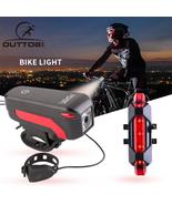 Bike Rear Tail Laser LED Indicator Turn Signal Light Wireless Remote Tai... - $56.31