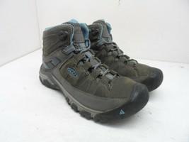 Keen Women's Targhee III WP Mid-Cut Hiking Shoes Magnet/Atlantic-Blue Si... - $85.49