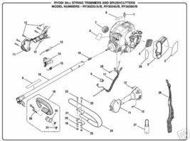 Throttle Wire & Lead Part Ryobi Trimmer Blower Pruner - $9.29