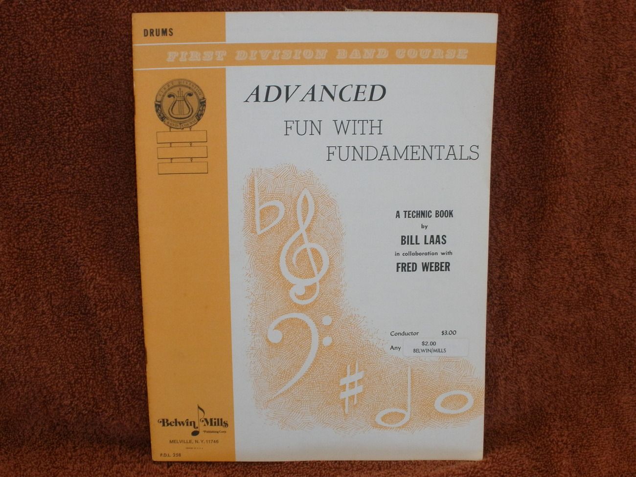 Advanced Fun with Fundamentals - Book 3 - Drums Belwin Mills