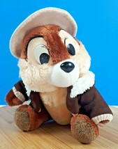 "Vintage Disney Chip and Dale Rescue Rangers Plush Stuffed Animal Chipmunk 7"" - $14.31"