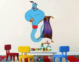 Aladdin Genie magic carpet 3D Window Decal WALL STICKER Home Decor Art M... - $6.92+