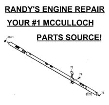 driveshaft flexshaft 301024 MC-9111-331101 mcculloch - $27.39