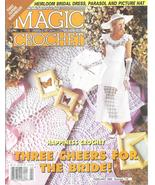 Magic Crochet #118~Bridal Dress~Parasol~Bedspreads - $19.99