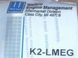 Carburetor Repair Rebuild Kit Walbro k2-lmeg Lme Lmg - $22.99
