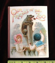 1892 moveable book My Friends At The Zoo Combined Expanding Toy & Painti... - $2,940.00