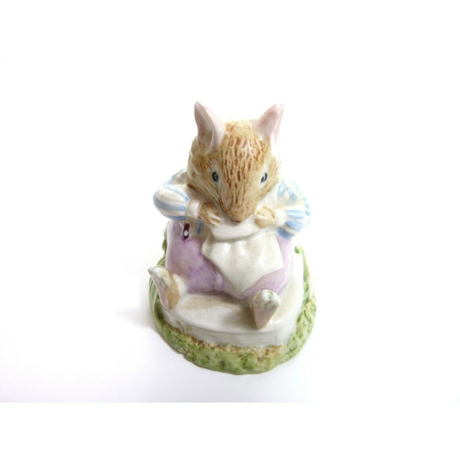 Vintage Mr Toadflax, no cushion, tail on side Royal Doulton figurine