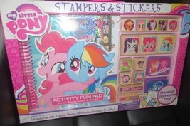 Bendon My Little Pony Stampers and Stickers Set - $10.00