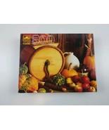 NEW Vintage Golden Guild 500 Pc Puzzle Harvest Still Life 1980's - $19.00