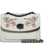 COACH 1941 Floral Embroidered Parker 18 Shoulder Bag Chain Crossbody ~NW... - $190.58