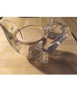 Avon Squirrel Glass Candle Holder - $26.22
