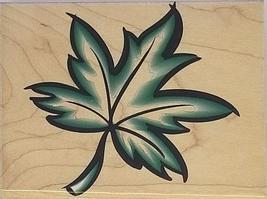 Hero Arts Bold Maple Leaf Rubber Stamp #H1458